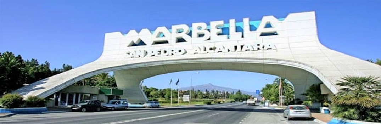 san pedro Marbella arch